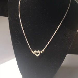 JA James Avery Heart Knot Necklace